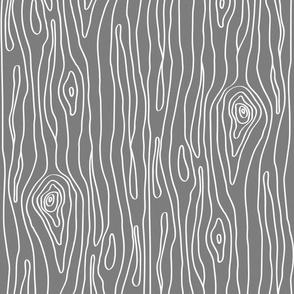 Gray Small Woodgrain