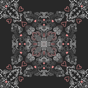 TARS Project 233 | Valentine Baroque on Charcoal Grey