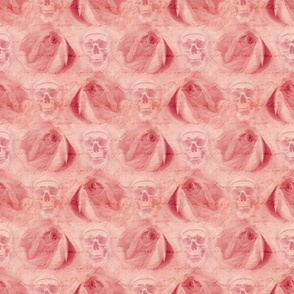 Pink Skulls and Roses