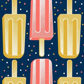 Popsicle Party Stripes
