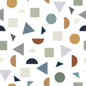 For The Love of Shapes Terrazzo