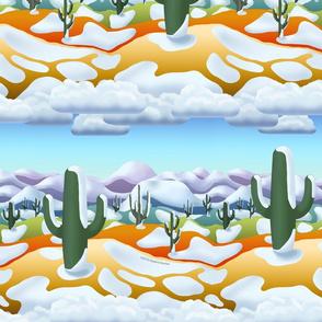 Desert Snow Modernism