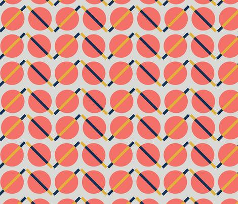 Space Cheveron fabric by nataliatcha on Spoonflower - custom fabric