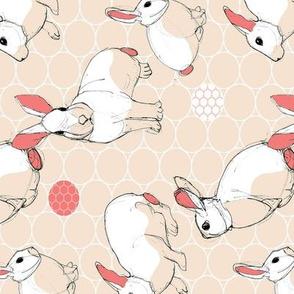 sketch bunny warm 90
