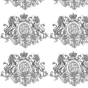 Shield Emblem Lion Image