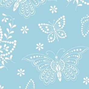 Flutterbies aqua 2