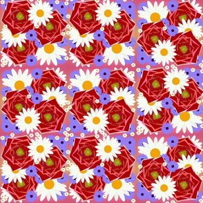 Boho Roses and Chamomile
