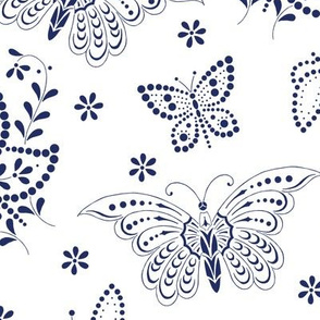 Flutterbies ink 1
