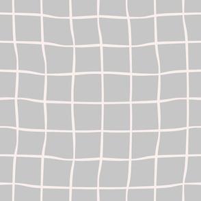 windowpane check-grey