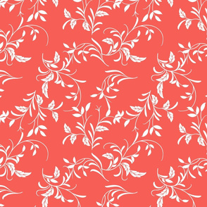 leaves and vine pattern
