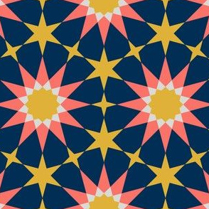 08430459 : SC64E4 : coral + goldenrod
