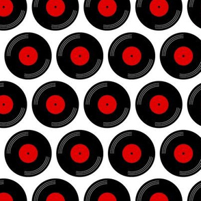 Spin Record Dots
