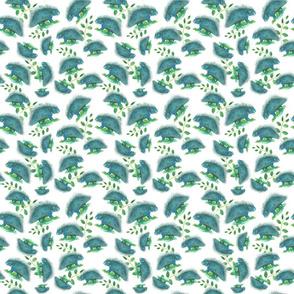 Blueporcupine