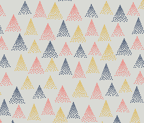 Tennessee Mountains fabric by allijam on Spoonflower - custom fabric