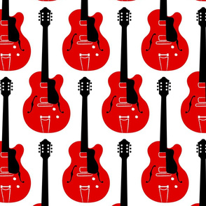 Strum Guitars Red