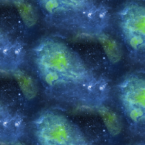 MAGIC FOREST COORDINATE BACKGROUND night blue