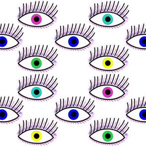 The Eyes Have It - multi pattern