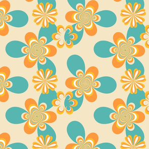 sixties floral- custom2 small