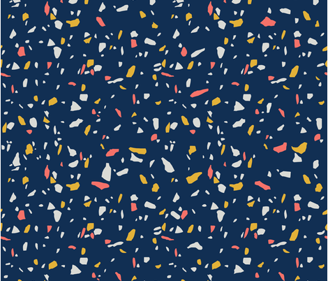 Terrazzo Mood fabric by cafelab on Spoonflower - custom fabric