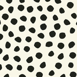 Polka dots Cream