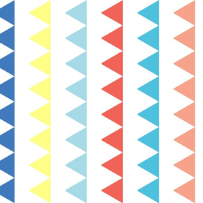 Triangles in a Column - Color