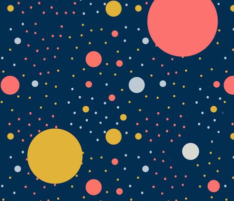spotty dotty fabric by nataliebee on Spoonflower - custom fabric