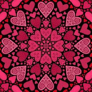 TARS Project 919 | Valentine Hearts on Black