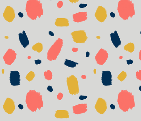 Pantone abstract fabric by doodleandcharm_ on Spoonflower - custom fabric