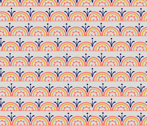 coral dance fabric by adriftinsitka on Spoonflower - custom fabric