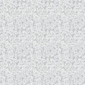 tiny lace // Pantone 179-5