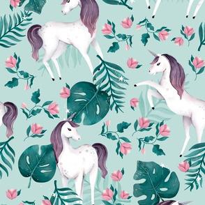 Unicorn Dreaming - Green
