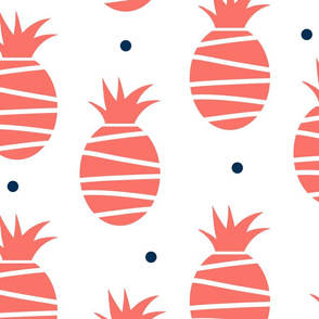coral pineapples