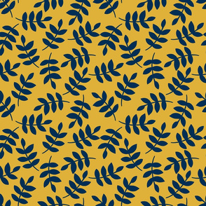 Navy Leaves