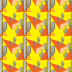 Yellow and Orange Cactus