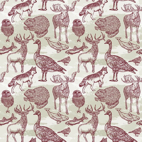 Into the Wild Animal Pattern