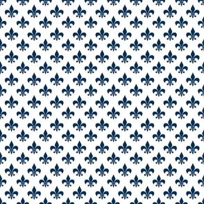 navy fleur de lis 2