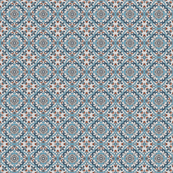Medieval tile blue small