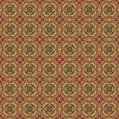 Medieval tile red small