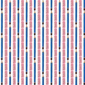 Pencil & Eraser Stripes