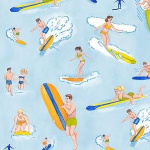 Retro Surfers