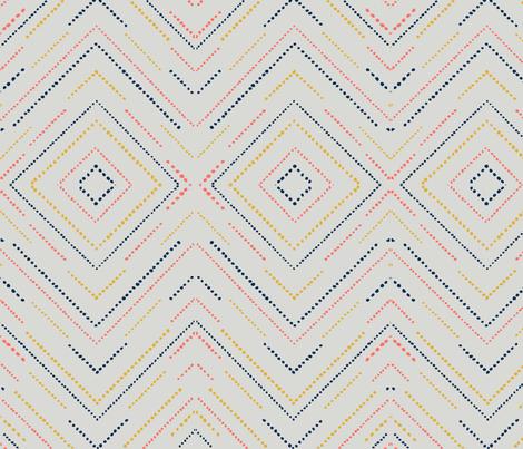 Pixelated Diamonds fabric by gaelicbeauty on Spoonflower - custom fabric