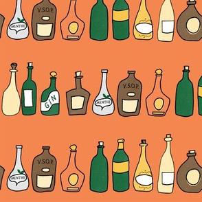 bottles orange