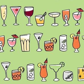 cocktails green