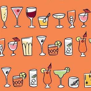cocktails orange