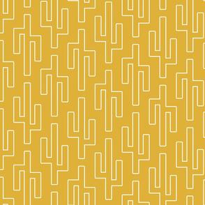 golden geo cactus