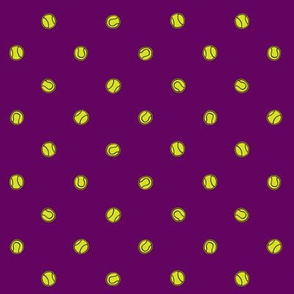 Tennis - purple
