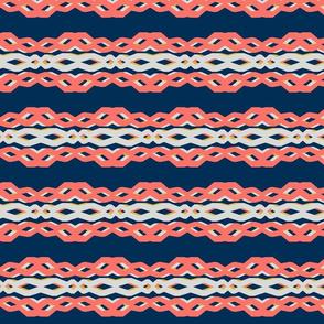 2019 pantone coral - lattice links