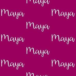 Maya - Orchid