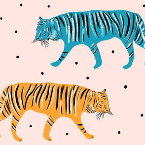 Tigers- large scale