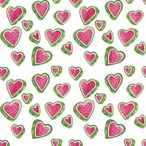 watermelon hearts white